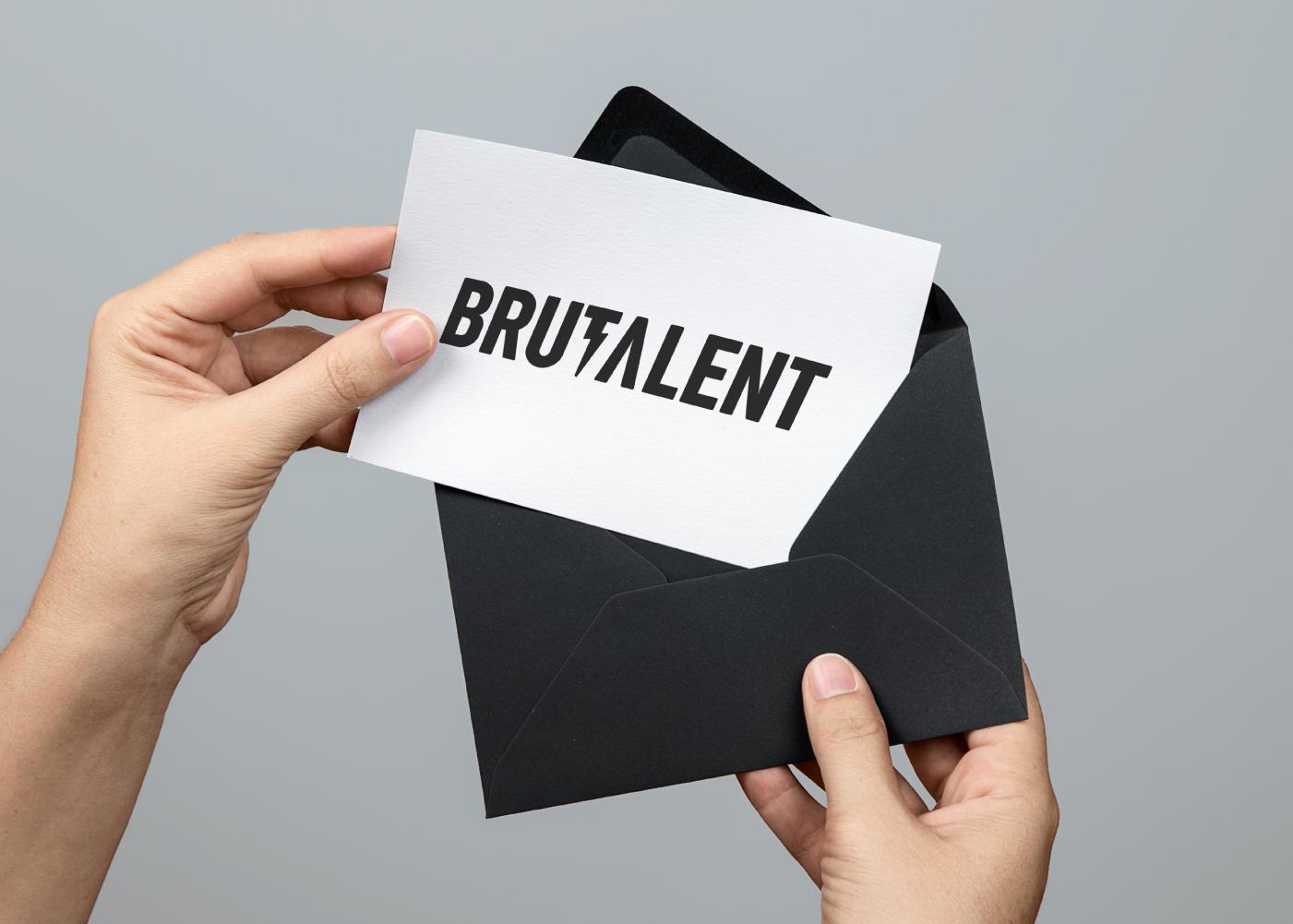 brutalent-card-tarjeta-sobre-logo
