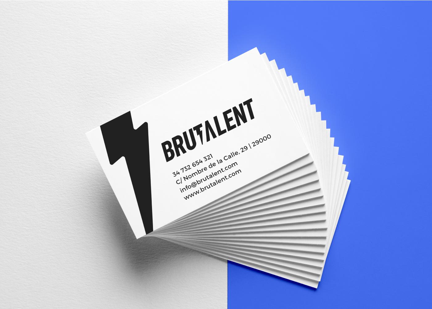 brutalent-tarjetas-de-visita-logo-marca