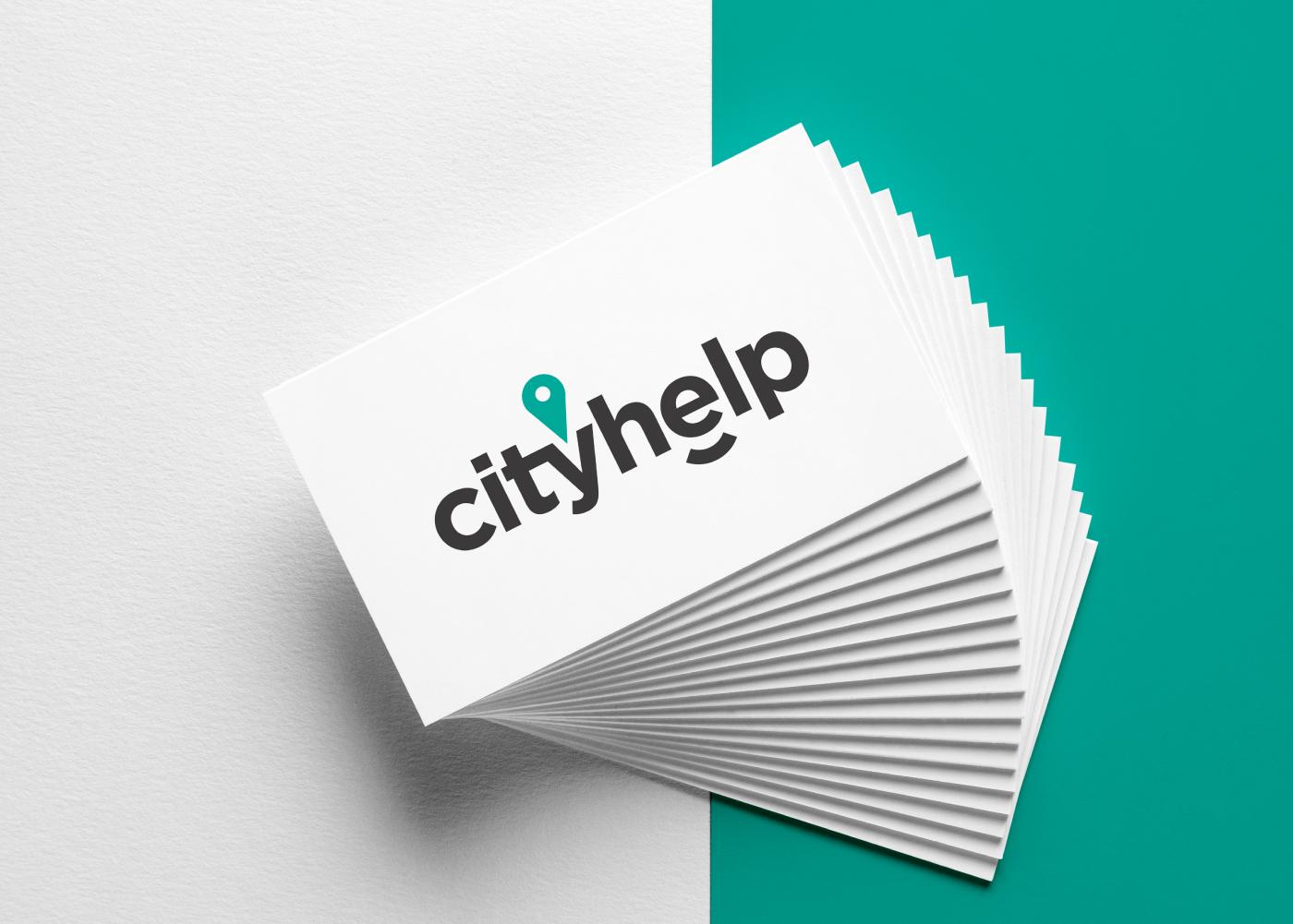 cityhelp-marca-logotipo-tarjetas
