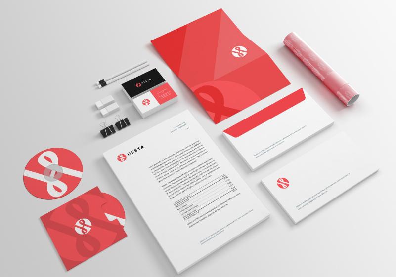 hesta-papelería-branding-tubo-marca