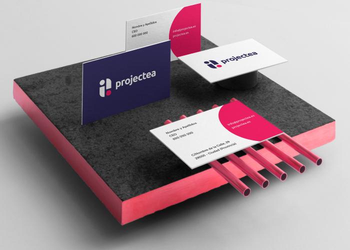projectea-logo-marca-papelería-2