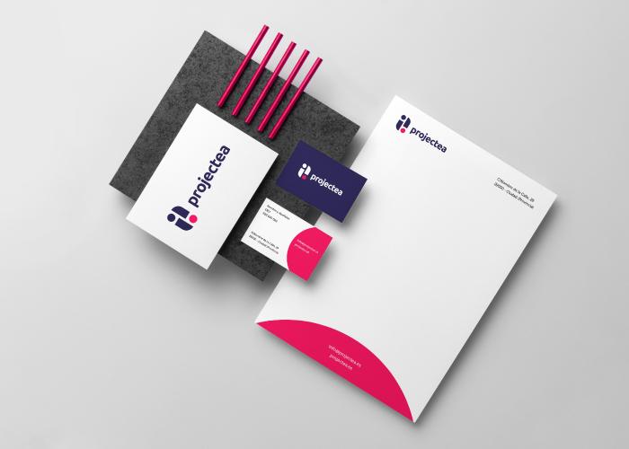 projectea-marca-papelería-logo
